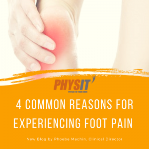 What's causing my foot pain? by Phoebe Machin